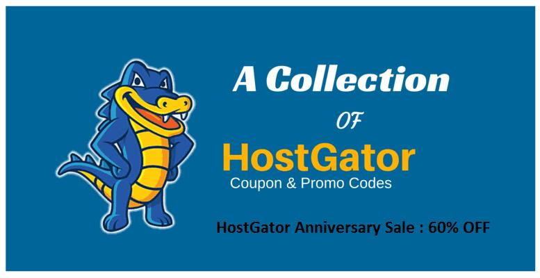 HostGator Anniversary Sale