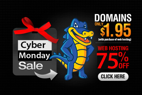 Hostgator Cyber Monday Coupon