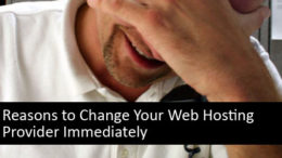 Reasons to Change Your Web Hosting Provider